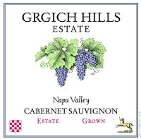 Grgich Hills Cellar Cabernet Sauvignon 2007 375Ml