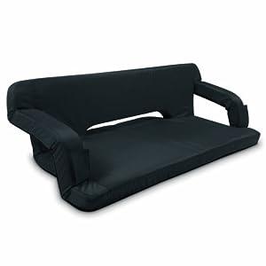 Picnic Time Portable Reflex Travel Couch (Black, Regular)