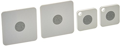 Tile Mate & Slim Combo Pack, Key/Wallet/Item Finder, 4-pack