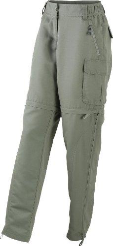 James & Nicholson - Pantaloni trekking da donna con cerniera Lady-XL