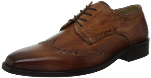 Melvin & Hamilton Jeff 1 Men's Shoes Brown Braun (Crust tan) Size: 10 (44 EU)