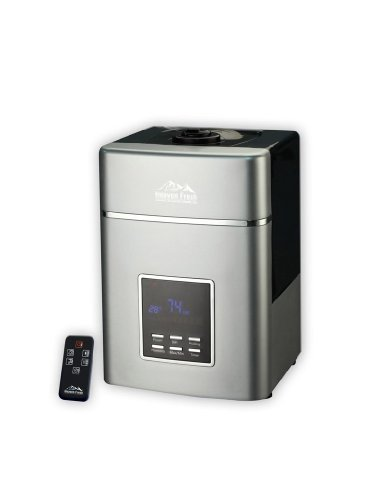 Heaven Fresh HF 707 Digital Ultrasonic Cool and Warm Mist Humidifier and Ionizer - with Remote Control