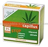 Capillus Scalp Serum containing Hemp oil Treatment for Dandruff, Seborrheic Dermatitis, Psoriasis, Atopic Eczema and Itchiness 8x5ml/0,2Floz