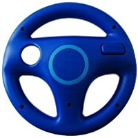 Element Digital(Tm) New Style Fashion Racing Games Steering Wheel For Nintendo Wii Mario Kart (Blue)