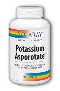 Solaray Potassium Asporotate Supplement, 99 mg, 200 Count (Solaray Potassium 99 Mg compare prices)