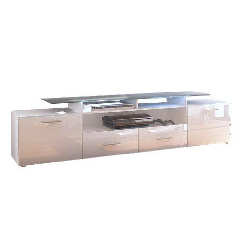 meuble bas tv almada v2 en meuble tv bas ateca turnbox s blanc - Meuble Tv Bas Ateca Turnbox S Blanc