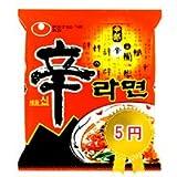 韓館特別企画ご縁辛ラーメン5円(お一人様3袋限定)