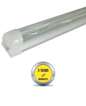 Redtag Lighting® T8 LED Tube Light Bar Clear