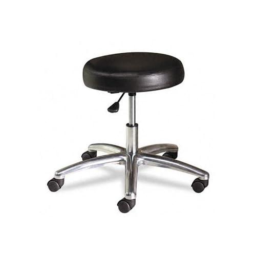 HON MTS01EA11   Medical Exam Stool without Back, 24 1/4 x 27 1/4 x 22, Black