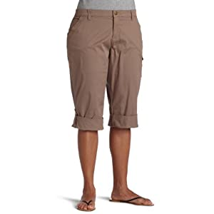 Lee Women's Plus Captiva Roll Up Capri