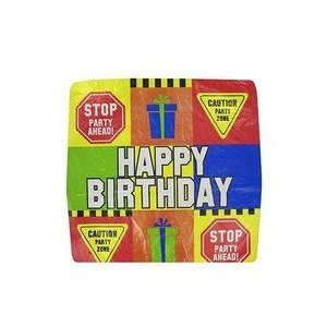 """Happy Birthday"" 18"" Mylar Balloon (Pack of 5) - 1"