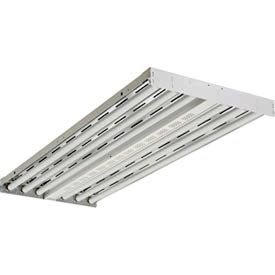 Lithonia Lighting Ibzt8 6 Fluorescent High Bay Light, White