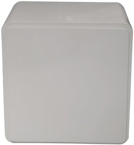 74069 Lounge Cube Closed 45 x 45 x 37 cm weiß MDF