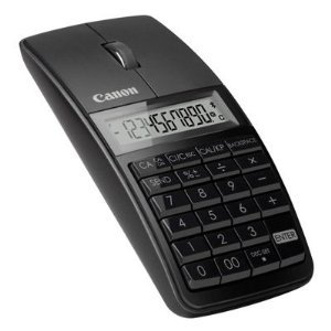 【並行輸入品】Canon 5565B001 X Mark I Mouse Slim Computer Link Calculator (Black)