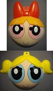 THE POWERPUFF GIRLS BLOSSOM & BUBBLES HALLOWEEN MASK (Plus Bubbles Powerpuff Costume)