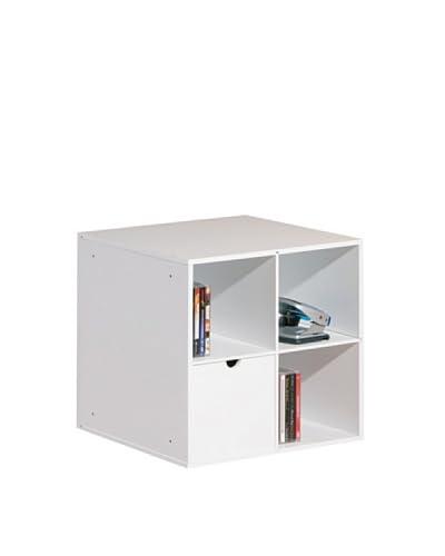 Modulo Contenitore Simply Bianco 36,2x36,2x38 cm
