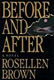 Before and After (G K Hall Large Print Book Series) (0816155836) by Brown, Rosellen