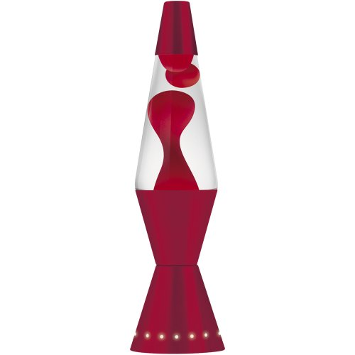 Lava Lite 4200 17 Inch 32 Oz Designer Lava Lamp Red Wax