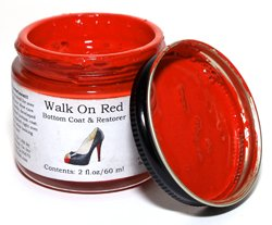 Angelus Acrylic Sole Coat- Walk on Red 2oz