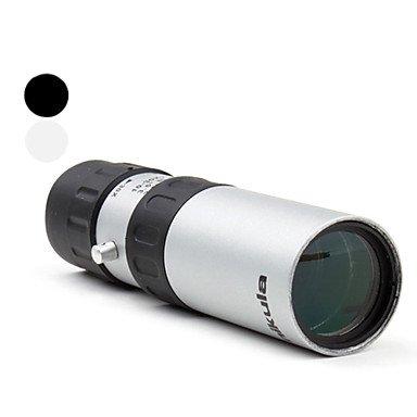 New 10X30 25Mm Nikula Zoom Monoculars , Black