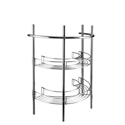 Find Cheap Croydex AJ401341YW Pedestal Storage Unit, Chrome