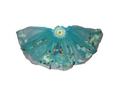 Fairy Rose Turquoise Blue Ballet Tutu Perfect Dress up Tutus