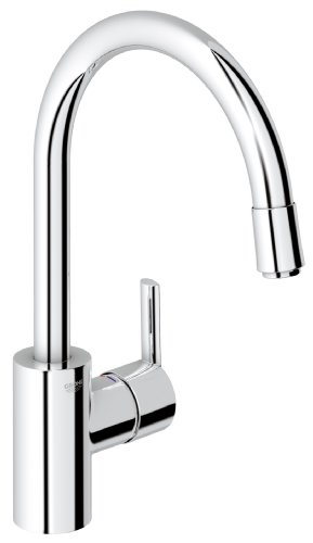 Grohe Feel High-Spout Sink Mixer with Pull-Out Spray