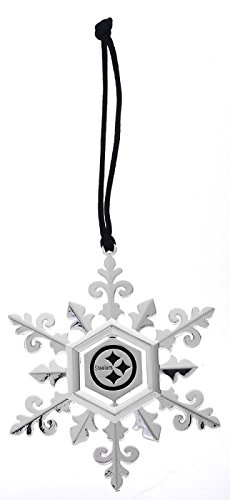 Silver Plated Snowflake, Pittsburgh Steelers at Steeler Mania