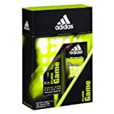 Adidas Pure Game Deo Body Spray 150ml And 2in1 Hair & Body Shower Gel 250ml