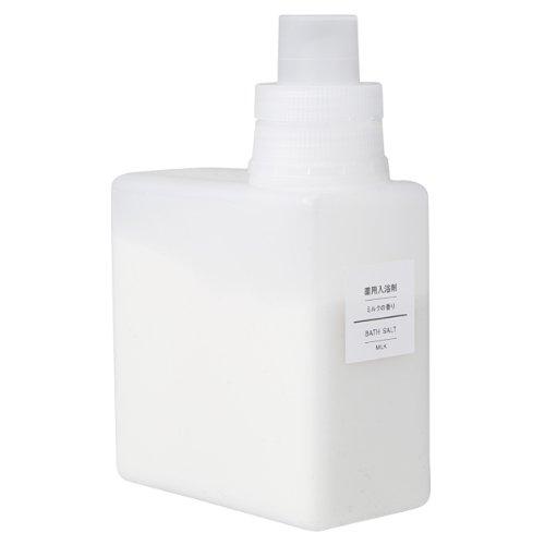Muji 500g fragrance of medicinal bath salts, milk (Muji Hot Water Bottle compare prices)