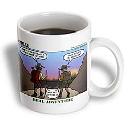 Knots Hiking Adventure - Real Adventure - 11oz Mug