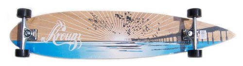 Purchase Krown Wood Sunset Complete Longboard Skateboard