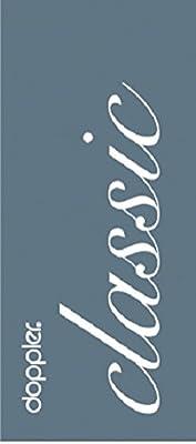 """Doppler Luxus Niederlehner Auflage """"3108"""", terra anthrazit gestreift von Doppler auf Gartenmöbel von Du und Dein Garten"""
