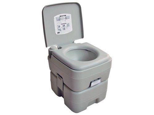 5 Gallon 20L Camping Portable Potty Toilet For Outdoor Caravan, Rv . Five Oceans front-27458