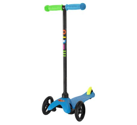 Mini Micro Scooter Neon Blue