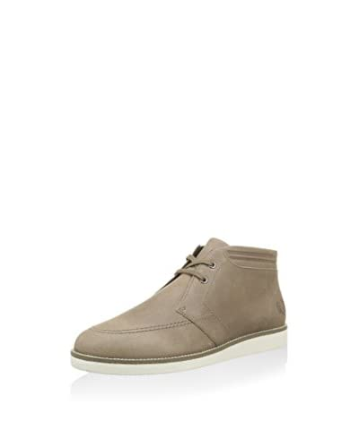 Fred Perry Desert Boot Fp Southall Mid Wax /Rub Lea beige