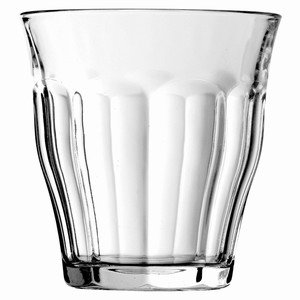 Duralex Super Strong Picardie Tumblers Tumbler Glasses 8.8oz / 250ml (Pack of 6) - Height 90mm