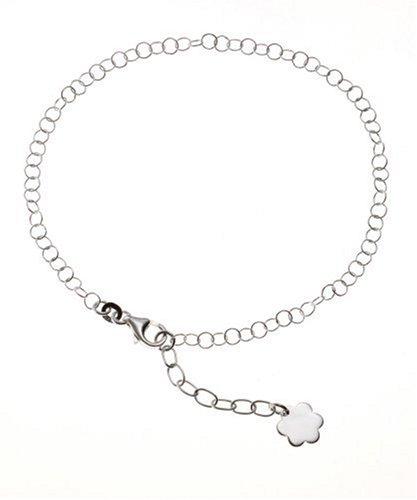 ZEEme Anklet 925 Sterling Silver 23-26cm 301200005