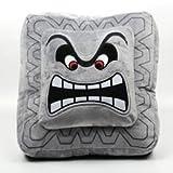 """Cute Super Mario Bros Plush Soft Toys Cushion Pillow Thwomp Dossun 13"""" New (1 Piece)"""