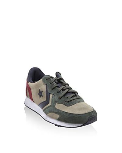 Converse Sneaker Auckland Racer Ox grün/beige/rot