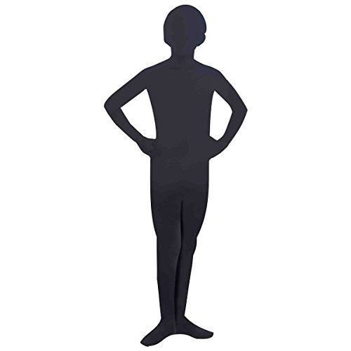 Black Invisible Skin Suit Kids Costume