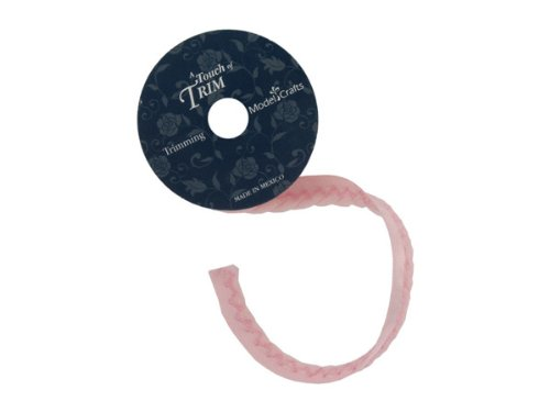 pink twisted cord-ribbon 6 foot spool - Pack of 20