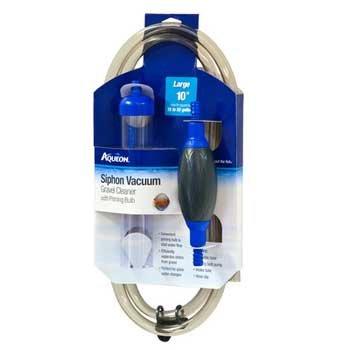 Aqueon 06232 Siphon Vacuum Aquarium Gravel Cleaner