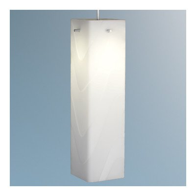 "Houston 1 Light Monopoint Pendant Finish: Bronze, Canopy/Bulb Type: 4"" Kiss Canopy/Led, Glass Color: White"