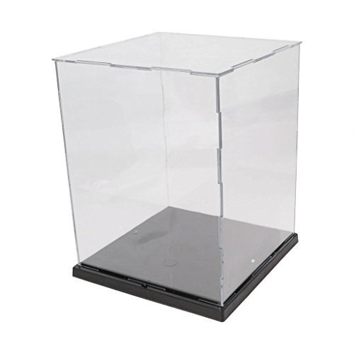 EKIND Acrylic Model Toy Display Case PVC Base (Toy Display Case compare prices)