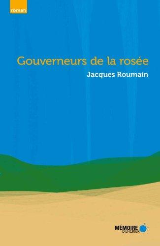 Gouverneurs de la rosée (French Edition)