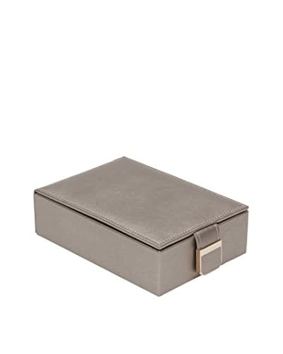 WOLF Palermo Travel Jewelry Box, Pewter