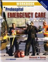Workbook for Prehospital Emergency Care