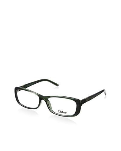 Chloé Women's CE2603 Rectangular Eyeglasses, Green