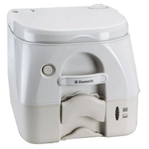 High Quality Dometic -972 Portable Toilet 2.6 Gallon - Tan